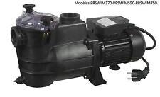 Pompe pour piscine 1500 W - 2CV avec filtre integré debit 16200 L/H - Arbre inox