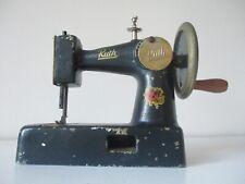 Rare cast iron German Toy Child's sewing machine Ruth