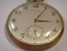 Superb, Hamilton, 17 Jewel, 10 k Gold Filled, Pocket Watch