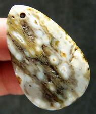 """1.6"""" Jewelry OCEAN AGATE Cabochon Crystal Pendant"""