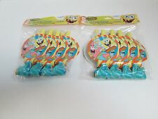 SPONGEBOB BUDDIES BLOW-OUTS / BLOWERS -- LOT OF 2 PACKAGES