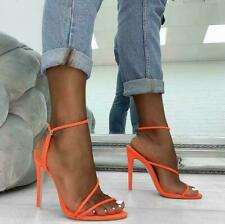 Sexy Womens Open Toe High Heel Sandal Strappy Hollow Slingbacks Party Club Shoes