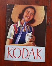 Kodak 1938 Product Catalog, October/cks/211492