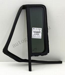 NAGD Driver Left Side Rear Quarter Window Quarter Glass Compatible with Jeep Wrangler 2011-2017 4 Door Models//Wrangler JK 2018 4 Door Models