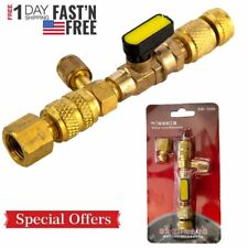 Hvac Ac Schrader Valve Core Remover Dual Size 14 And 516 Port Installer Tool