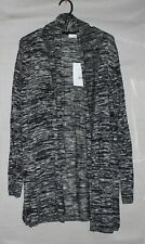 NEW Urban black and white long sleeve cardigan SIZE L