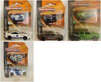 Ford Mustang Honda Civic Majorette RACING CARS DieCast Metal 1:71 - 1:54