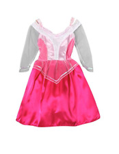 Making Believe Pink Sleeping Beauty Dress Up Costume - Sheer Sleeves - 4/6
