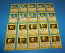 Surfing Pikachu & Pikachu #1   Pokemon Black Star Promo ( 20 ) Cards 2001 & 1999