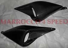 Ducati Monster S2R S4R S4 carénage carbone scoops alimentation air carenatura