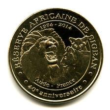 11 SIGEAN Lion rugissant et lionceaux, 2014, Monnaie de Paris