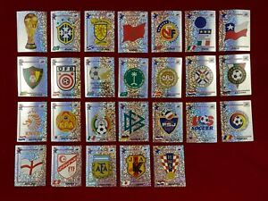 Panini World Cup France 98 WC 1998 Badges 26 / 34 Different