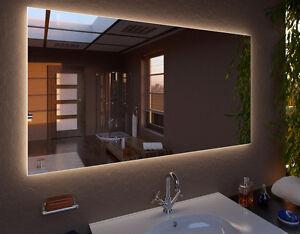 LEDspiegel KLARA Badspiegel Spiegel Wandspiegel Wunschmaß in 114 Größen