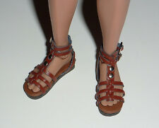 1/6 Scale Phicen, Hot Toys, Kumik, ZC, NT Female Brown Gladiator Sandal Shoes