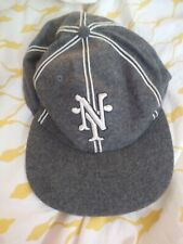 Headgear Size 7 5/8 NY Wool Blend Baseball Cap Negro Leagues Baseball Museum