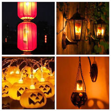 4x Flame Light B22 LED Flicker Bulb Simulated Burning Fire Effect Festival Party