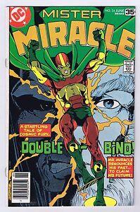 Mister Miracle #24 Fine Signed w/COA Russ Heath 1978 Bronze Age DC Comics