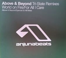 "Above & Beyond ""World on Fire/For All I Care"" *ANJ080R /A&B + Spencer&Hill Mixes"