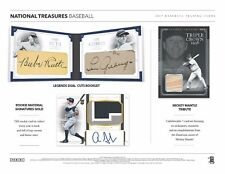 SAN FRANCISCO GIANTS 2017 NATIONAL TREASURES BASEBALL 2 BOX HALF CASE BREAK #31