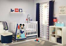 Disney Baby Mickey Mouse Best Buddies 4 Piece Nursery Crib Bedding Set