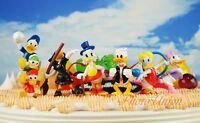 Cake Topper Toy Model Figure Disney Olympics Donald Duck Family Sports Set K1158