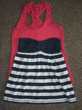 Abercrombie & Fitch Strapless Babydoll S and Anchorblue Tank Size XS
