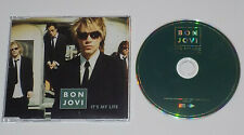 Bon Jovi It's My Life Rare UK promo CD single JOVCJ22