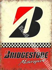 Garaje Vintage Bridgestone neumáticos, 153 Carreras Coche Motor antigua, grande