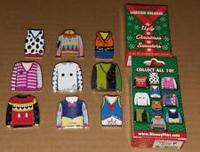 Disney Pins Ugly Christmas Sweaters Cheshire Mickey Dumbo Baymax & More U pick