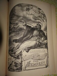 Cassell's Illustrated Shakespeare - The Plays of Shakespeare - 3 volumes