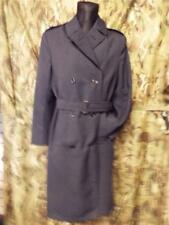 Air Force RAF SAC TRENCH RAIN MAC long Coat double breasted goodwood 36 10-12