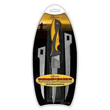 "5509 Quarrow 3-Blade Interchangeable Filet Knife Set - Fishing - 4"" 6"" 8"" Blades"