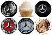 Mercedes Benz Stern Eßbar Tortenbild Party Deko Muffinaufleger Geburtstag neu