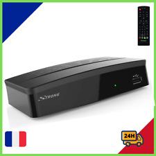 Décodeur Boîtiers TNT Enregistreur Full HD DVB-T2 TV Radio HDMI USB Tuner LAN FR