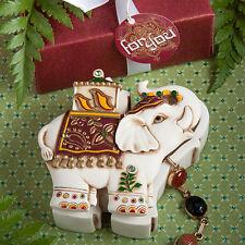 Elephant Curio Box Eastern Wedding Bridal Shower Party Favors