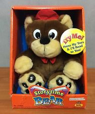 2002 Electronic StoryTime Bear - New