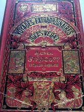 1929 JULES VERNE HETZEL MICHEL STROGOFF RUSSIE CARTONNAGE HACHETTE LIVRE IL BOOK