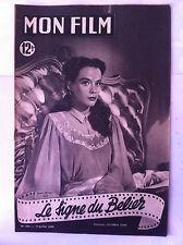 """b)Mon Film n°204 du 19/07/1950 """"Le signe du bélier"""" Susan Peters"""