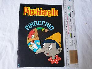2 - Picchiarello Pinocchio Le più belle fiabe 1982 Edizioni Cenisio
