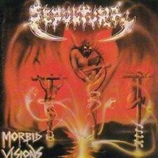 """SEPULTURA """"MORBID VISIONS/BESTIAL DEVASTATION"""" CD NEW+"""
