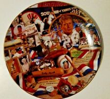 Collector plates baseball, Mickey Mantle, Yankees 9 inch