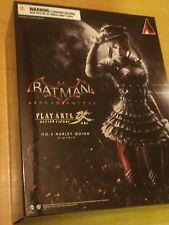 Batman Arkham Knight: Harley Quinn Figura Play Arts Kai-Nuevo y Sellado