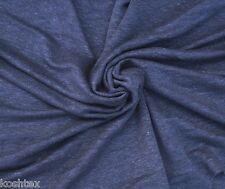 "100% Linen JERSEY Knit Fabric By Yard Eclipse Semi Sheer 62""W 10/15"