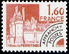 "FRANCE PREOBLITERE TIMBRE STAMP N°168 ""MONUMENTS, PIERREFONDS"" NEUF xx TTB"