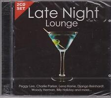 LATE NIGHT LOUNGE 2 - VARIOUS ARTISTS on 2 CD's - NEW -