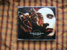CD gothique Marilyn Manson tourniquet 3 chanson MCD Nothing