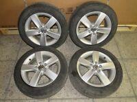"""VW Golf 7 5G Aluradsatz Alufelgen Räder 16"""" Navarra Hankook A44355 5c0601025r"""