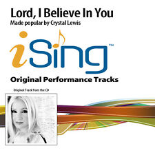 Crystal Lewis - Lord, I Believe In You - Accompaniment Track