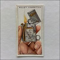 Wills Do You Know 28 Automatic Lighter Cigarette Card (CC12)