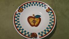 "Tabletops Unlimited ""A is for Apples"" bowl kitchen home decorative fruit china"